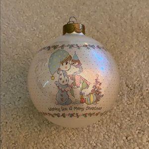 Vintage Enesco Precious Moments Christmas Ornament